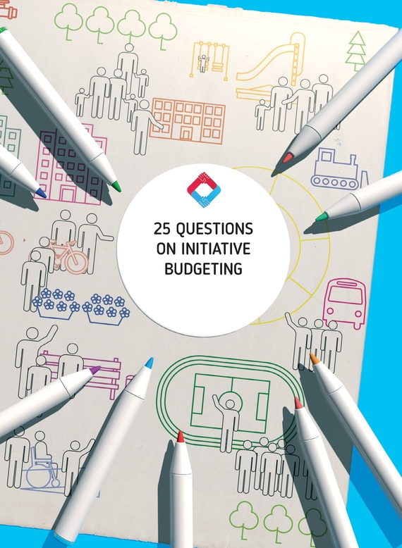 обложка книги 25 Questions on Initiative Budgeting: manual