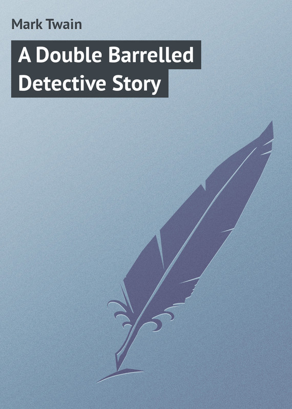 обложка книги A Double Barrelled Detective Story