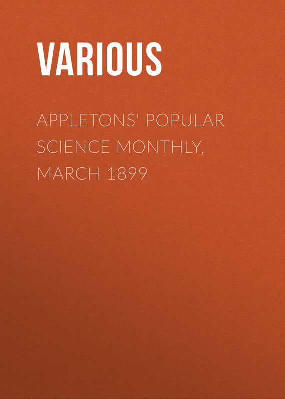 обложка книги Appletons' Popular Science Monthly, March 1899