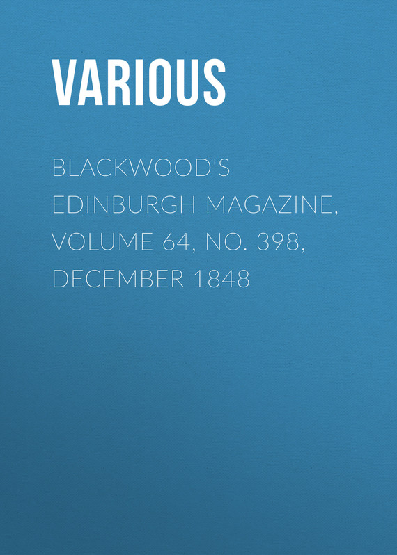 обложка книги Blackwood's Edinburgh Magazine, Volume 64, No. 398, December 1848