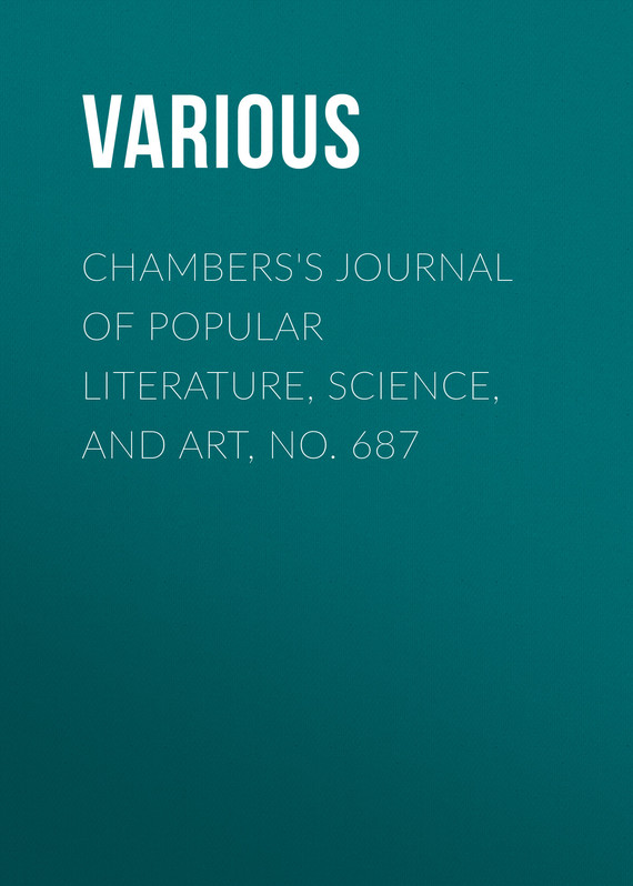 обложка книги Chambers's Journal of Popular Literature, Science, and Art, No. 687