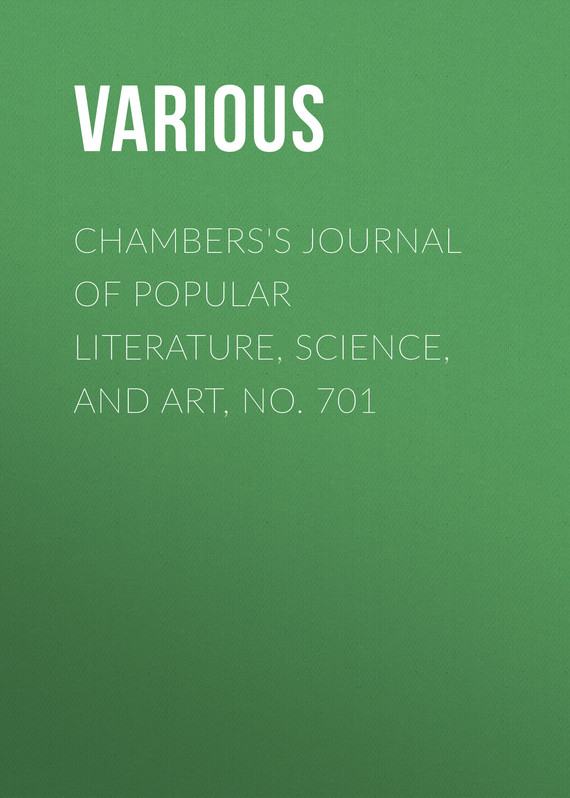 обложка книги Chambers's Journal of Popular Literature, Science, and Art, No. 701