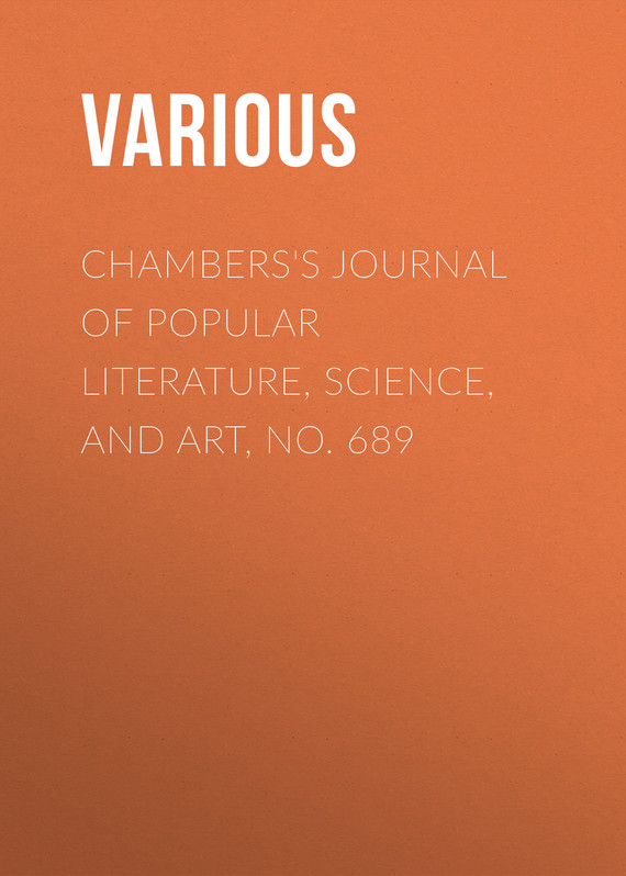 обложка книги Chambers's Journal of Popular Literature, Science, and Art, No. 689