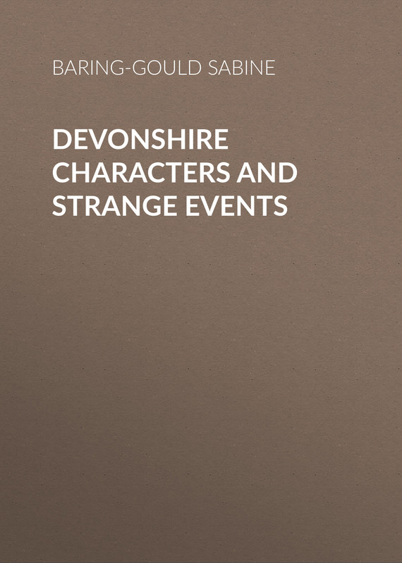 обложка книги Devonshire Characters and Strange Events