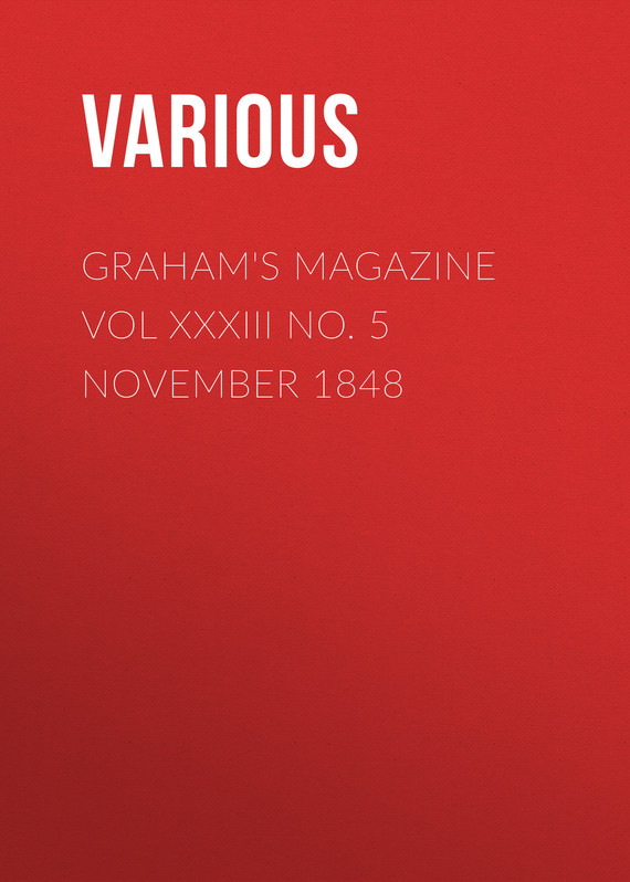 обложка книги Graham's Magazine Vol XXXIII No. 5 November 1848