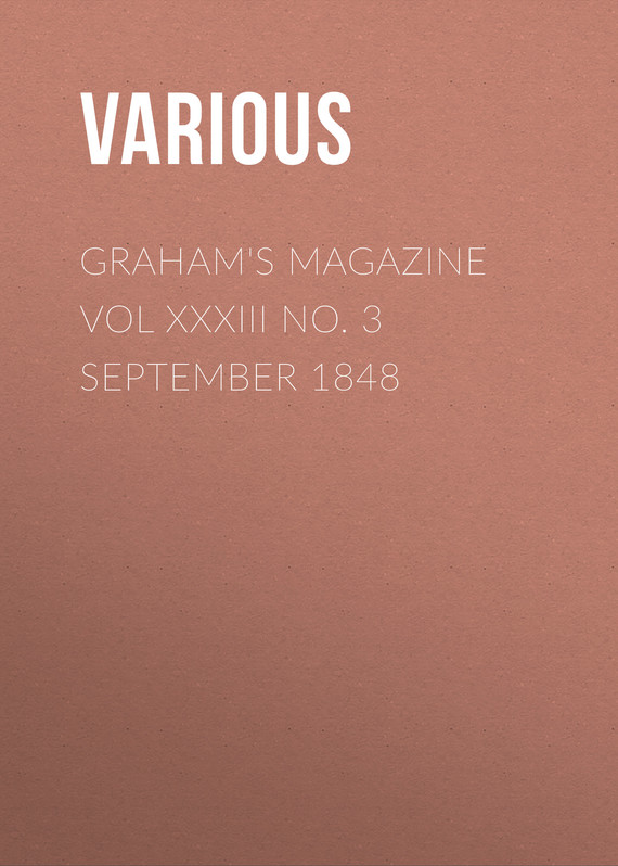 обложка книги Graham's Magazine Vol XXXIII No. 3 September 1848