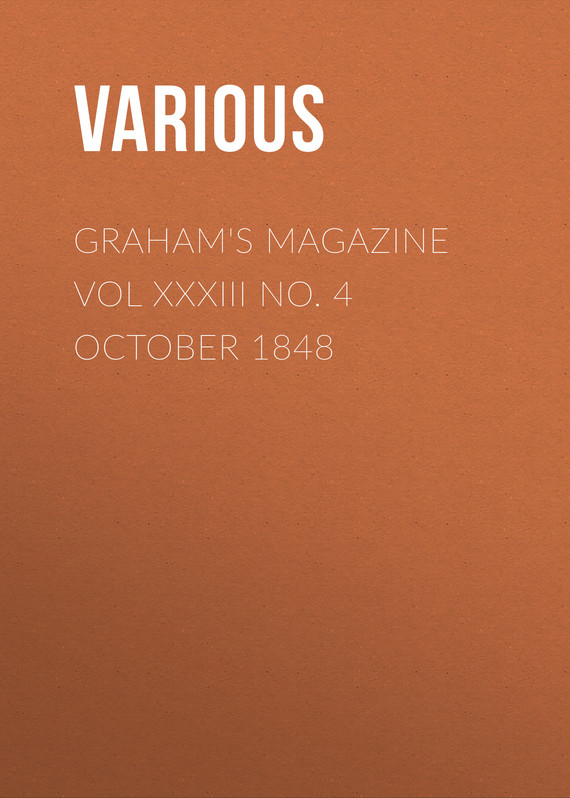 обложка книги Graham's Magazine Vol XXXIII No. 4 October 1848