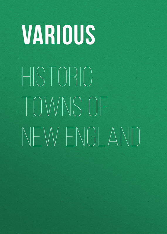 обложка книги Historic Towns of New England