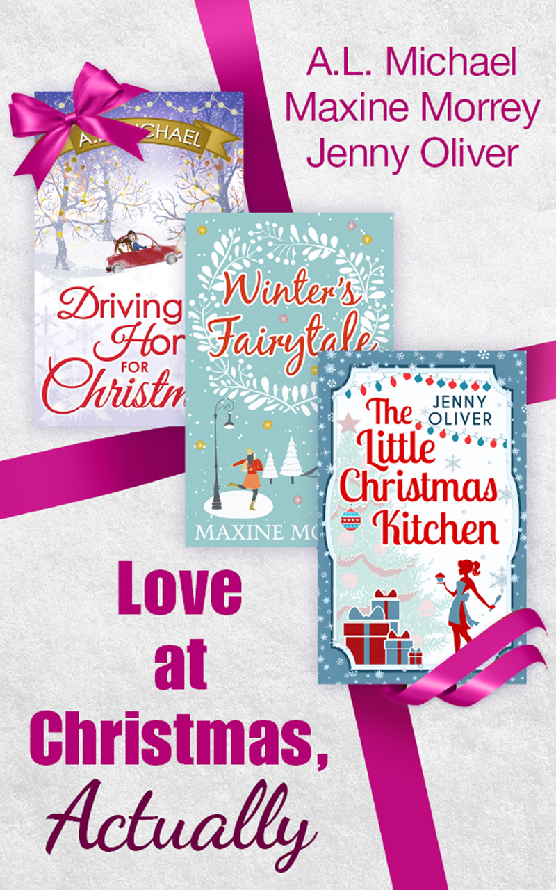 обложка книги Love At Christmas, Actually: The Little Christmas Kitchen / Driving Home for Christmas / Winter's Fairytale