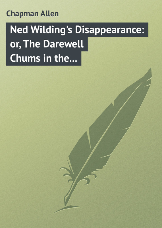 обложка книги Ned Wilding's Disappearance: or, The Darewell Chums in the City