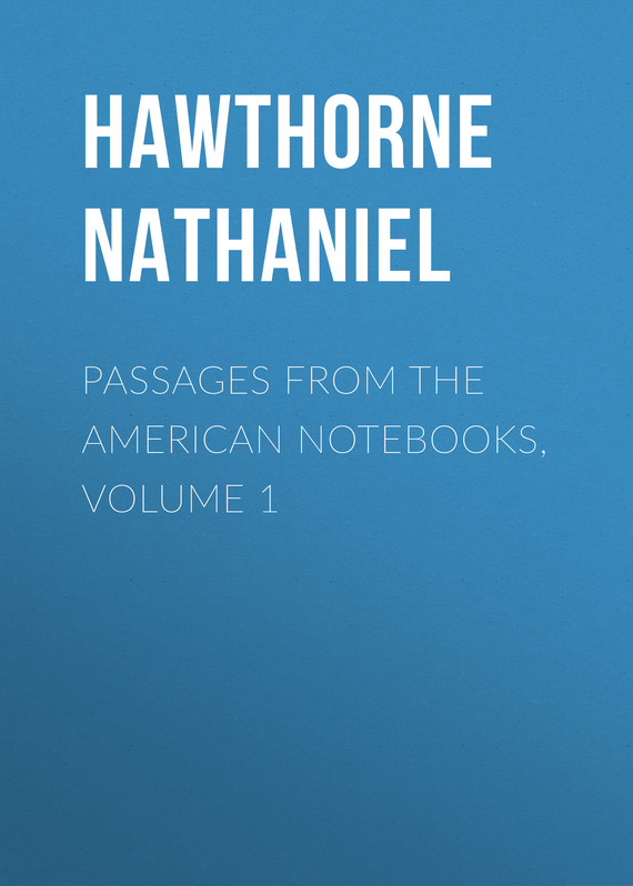 обложка книги Passages from the American Notebooks, Volume 1