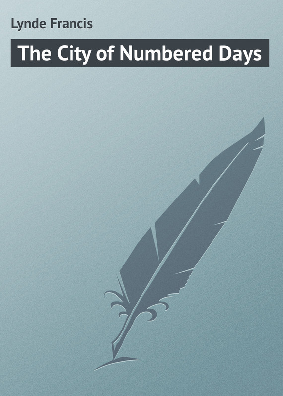 обложка книги The City of Numbered Days