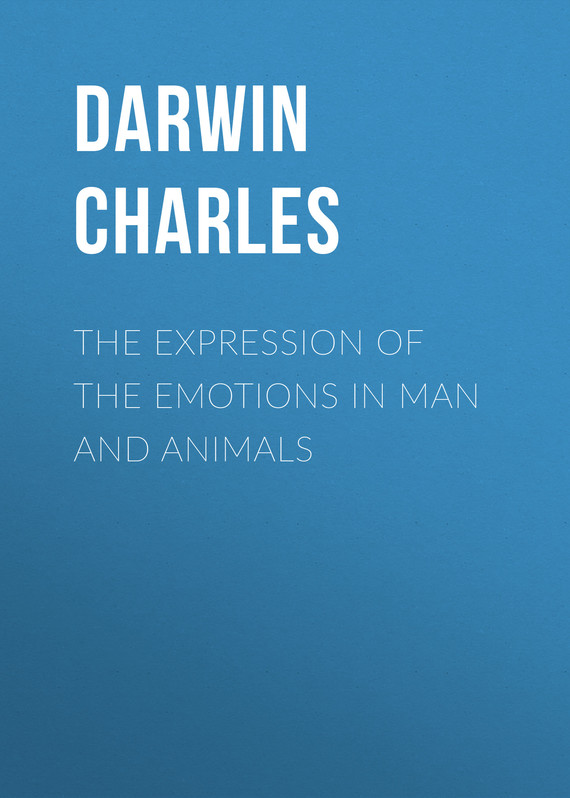 обложка книги The Expression of the Emotions in Man and Animals