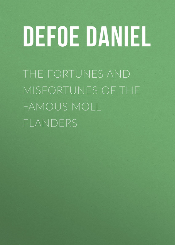 обложка книги The Fortunes and Misfortunes of the Famous Moll Flanders