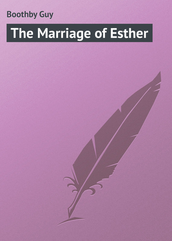 обложка книги The Marriage of Esther