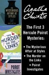обложка книги Hercule Poirot 3-Book Collection 1: The Mysterious Affair at Styles, The Murder on the Links, Poirot Investigates